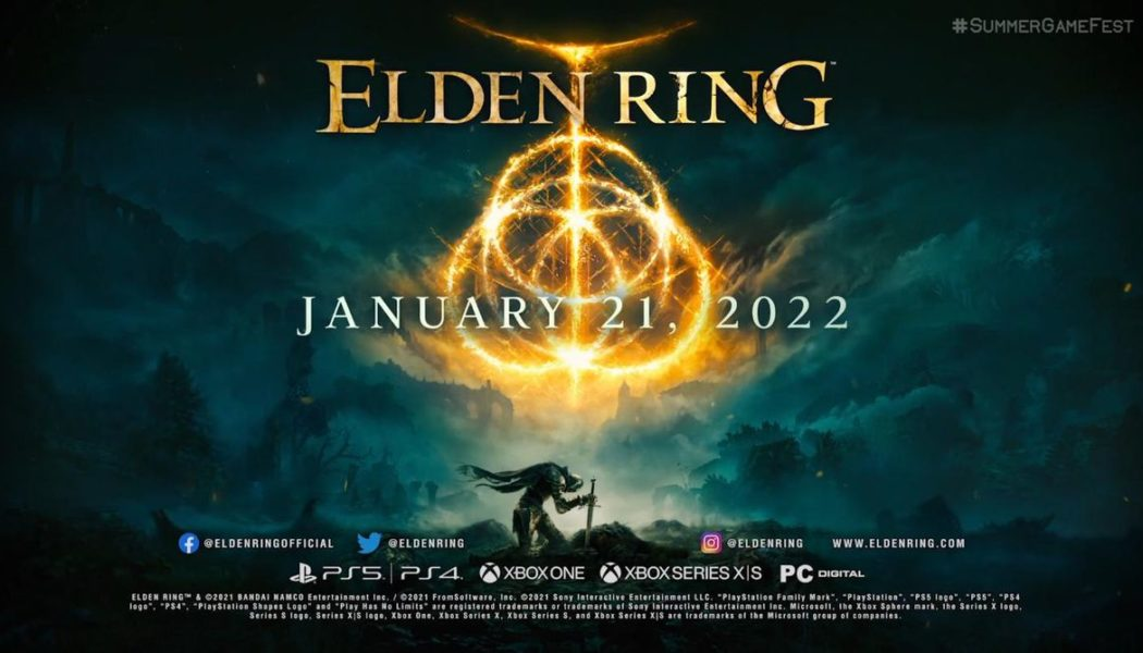 Watch the first gameplay trailer for Elden Ring, coming January 21st 2022