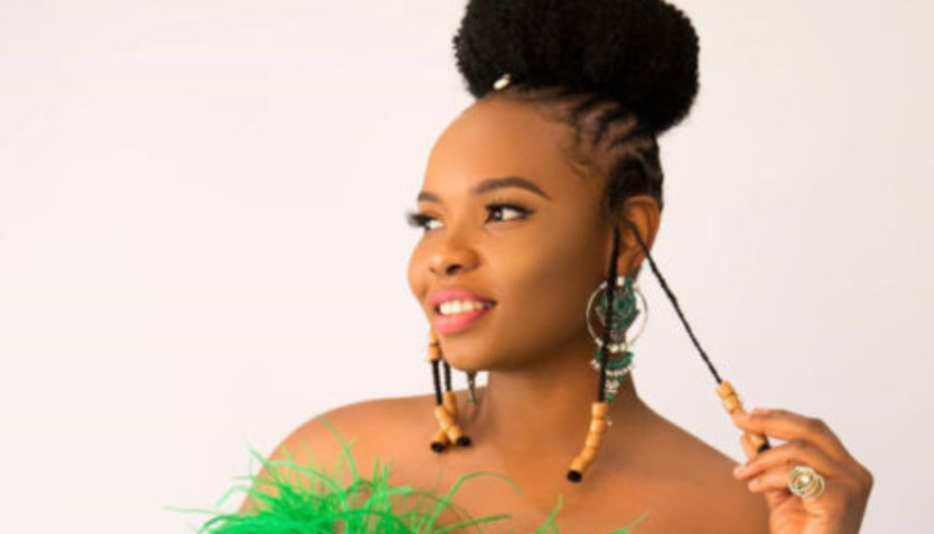 Yemi Alade Bags Award From United African DJ's
