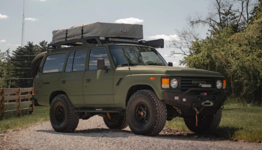 A 1984 Toyota Land Cruiser FJ60 Is Up for Auction