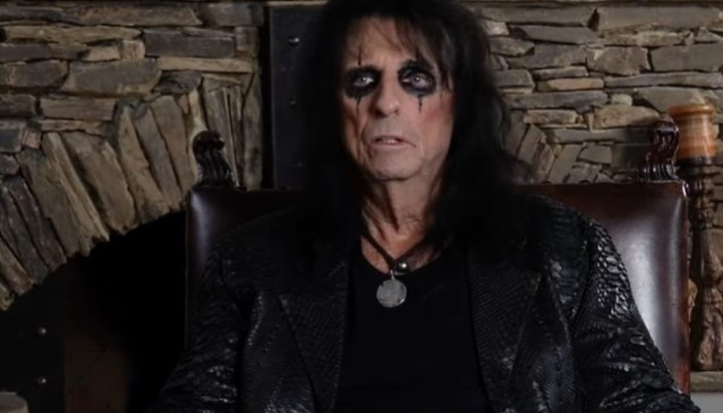 ALICE COOPER: Officially Endorsed Coloring Book Now Available