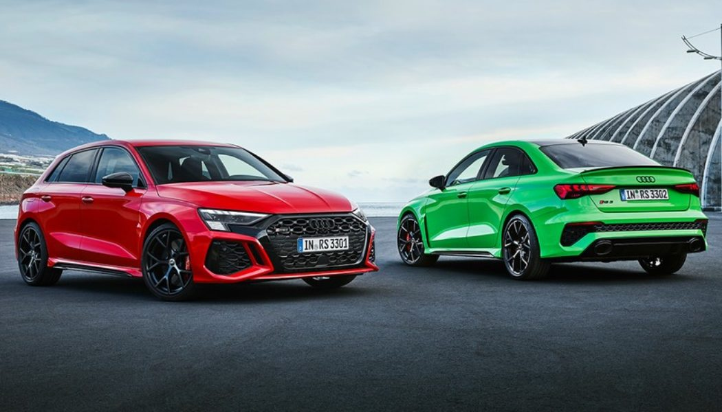 Audi Unveils the 400 HP RS3 Sportback and Sedan