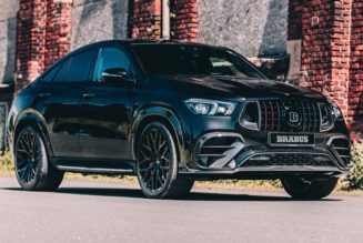 Brabus Gives the Mercedes-AMG GLE 63 S 4MATIC+ Coupe 800 HP