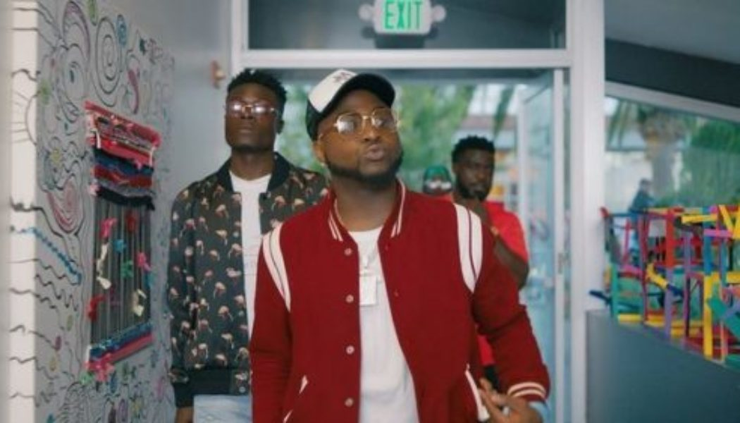 """Davido Drops Snippet for """"Shopping Spree"""" Video With Chris Brown & Young Thug"""