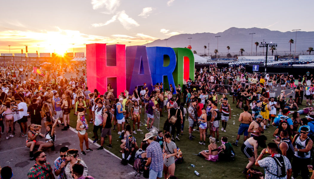 HARD Summer Shares 2021 Set Times and Festival Map