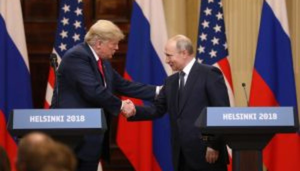 Kremlin Papers Seemingly Point To Putin Plot To Land Donald Trump In White House