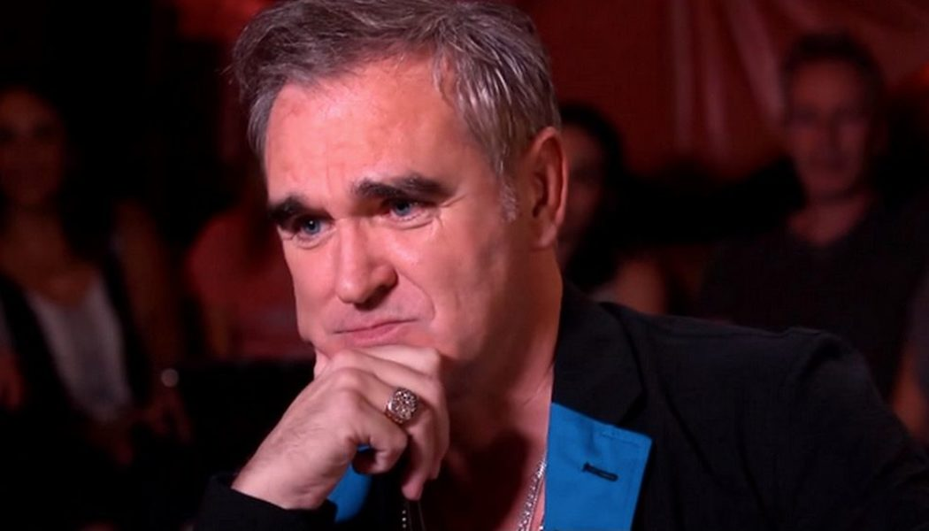 """Morrissey Describes Pandemic as """"Con-vid"""", Likens Government Restrictions to Slavery"""