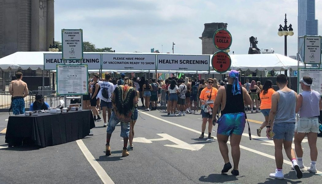 On the Ground at Lollapalooza: How Are the Festival's COVID-19 Protocols Holding Up?