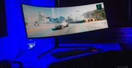 Samsung's Odyssey Neo G9 is a high-end TV disguised as a 49-inch curved gaming monitor