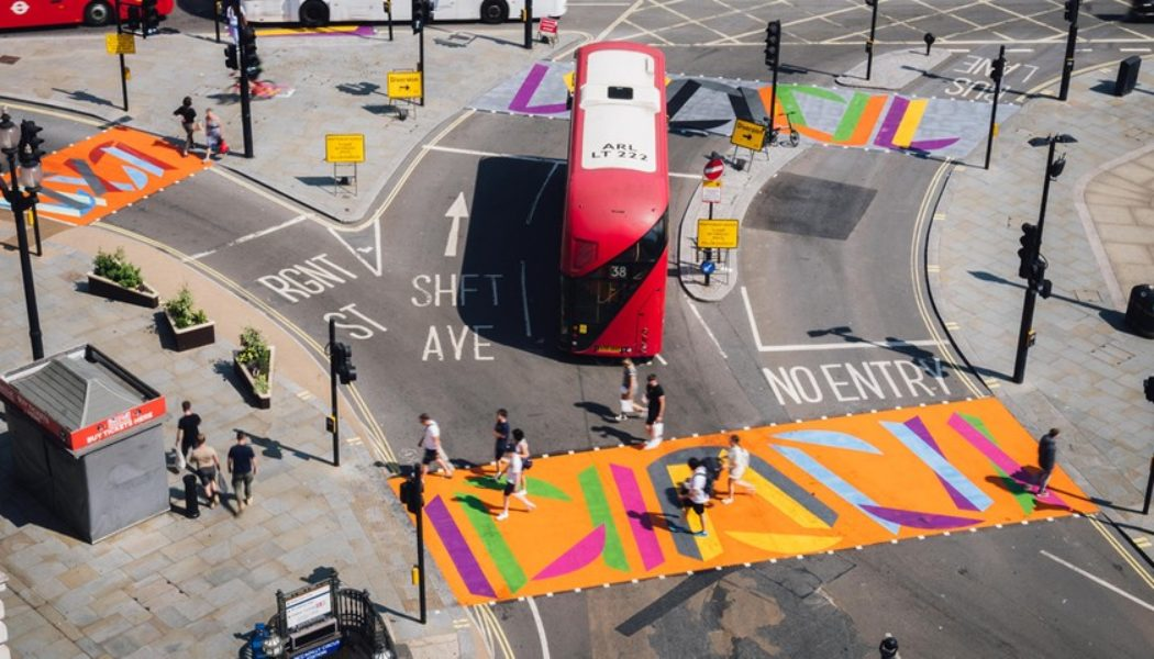 The Art of London Breathes Life Back Into the Streets of Piccadilly