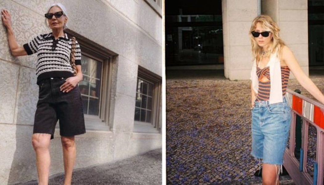 The Denim Trend Fashion People Are Swapping Short Shorts For
