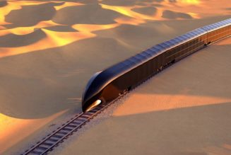 """The """"G-Train"""" Is a $350 Million USD Luxury Vessel of the Future"""