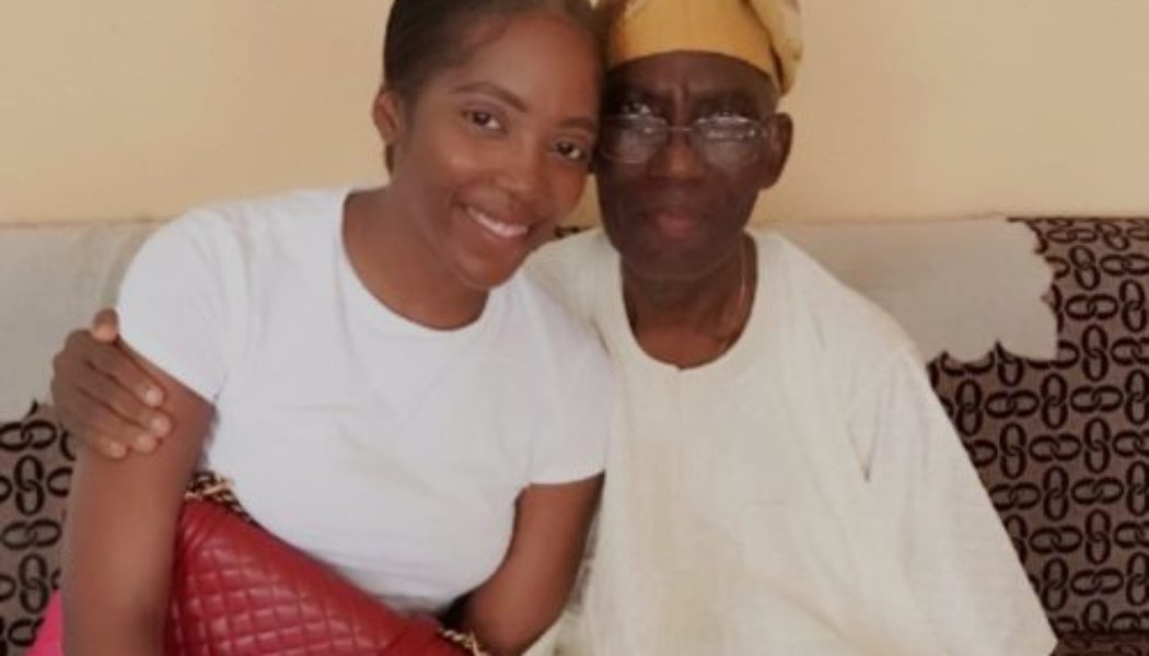 Tiwa Savage mourns as her father passes on