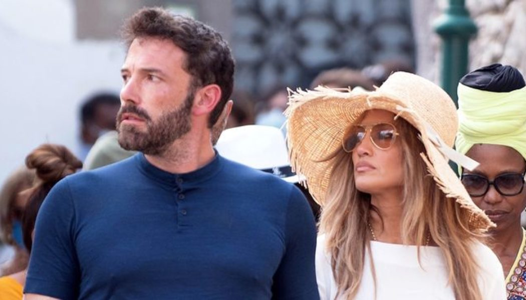 We Can't Get Enough of J.Lo and Ben Affleck Matching Their Accessories