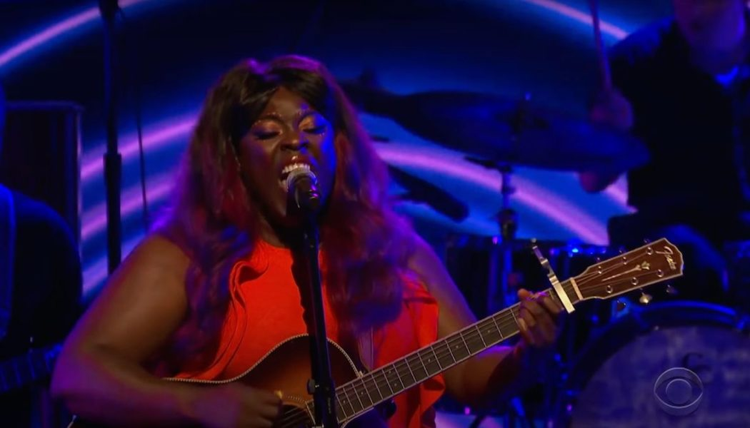 """Yola Thunders Through """"Stand for Myself"""" on Colbert: Watch"""