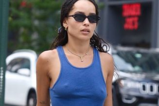 Zoë Kravitz Keeps Wearing This Basic Summer Outfit, and It Works Every Time