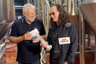 Rush Announce Canadian Golden Ale Beer, Share Fun Promo Clip with Geddy Lee and Alex Lifeson: Watch