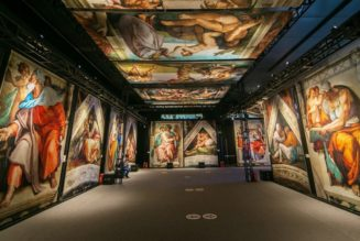 The Sistine Chapel Exhibition Is Touring The United States