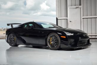 This Lexus LFA Nürburgring Package Just Sold for $1.6M USD