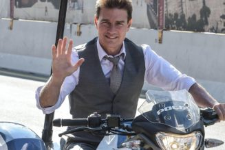 Tom Cruise Reportedly Did 13,000 Motorbike Jumps To Train for His 'Mission: Impossible 7' Stunt