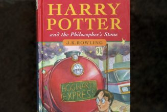 """A Man Named """"Harry Potter"""" Is Selling Rare First-Edition 'Harry Potter' Book for $40,000 USD"""