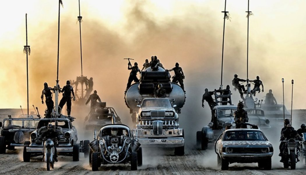 Cars from 'Mad Max: Fury Road' Are Now Available for Auction