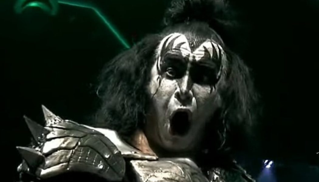 GENE SIMMONS On KISS's Upcoming Las Vegas Residency: 'We Wanna Have The Best Party On Earth'