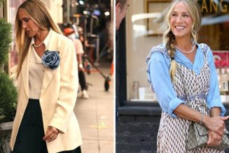 Here Are All of Carrie Bradshaw's Best Looks From the Set of And Just Like That…