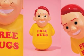 Joan Cornellà and AllRightsReserved Offer 'Free Hugs' With New Roly-Poly Figure