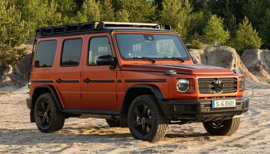 Mercedes-Benz Demonstrates a New Level of Customization for the G-Class
