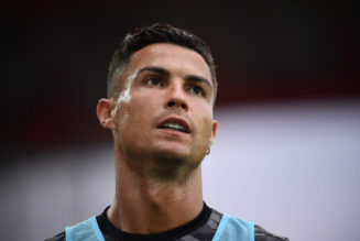 Pictures: Ronaldo is back training at Manchester United!