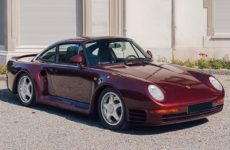 Qatari Royal Family-Owned Porsche 959 Komfort Heads to Auction