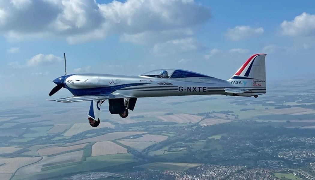 Rolls-Royce's All-Electric Aircraft Completes First Test Flight