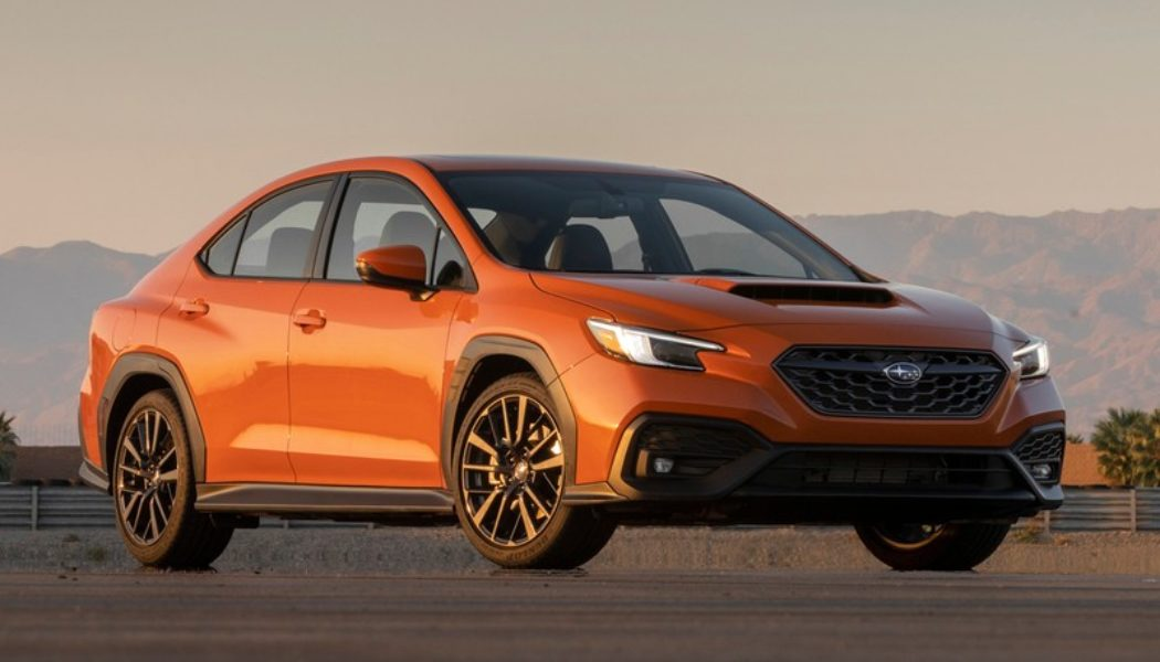 The 2022 Subaru WRX Combines Its Rally-Bred Underpinnings With New Tech and Luxury