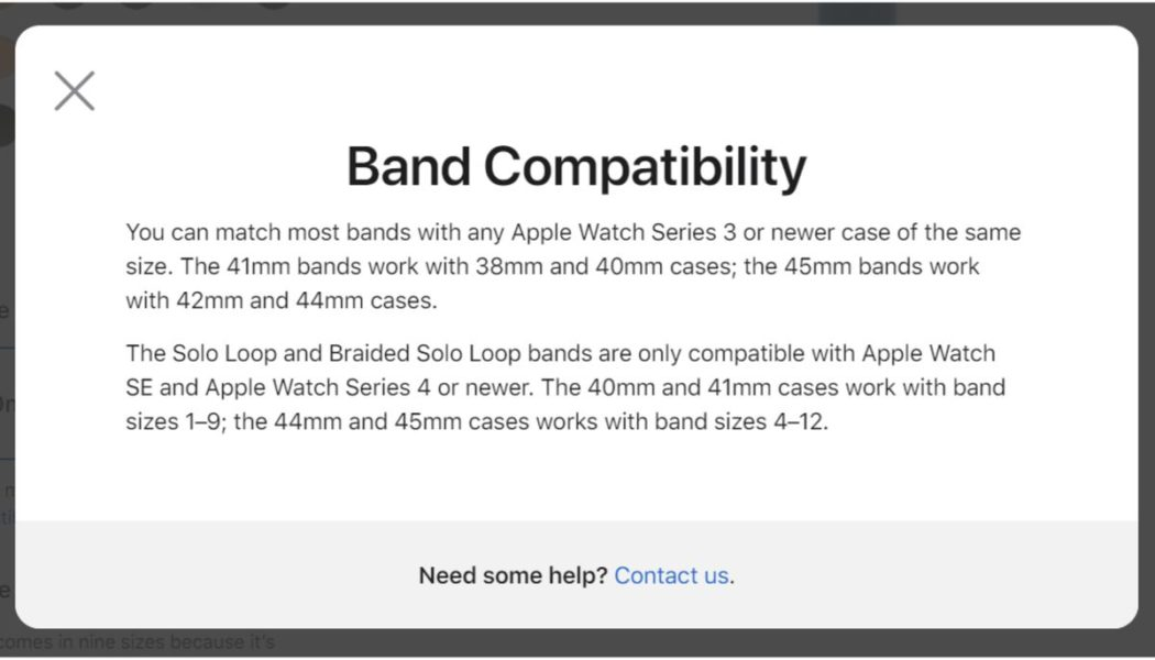 The Apple Watch's new sizes make shopping for bands more confusing