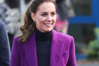 The Duchess of Cambridge Just Wore the Most Daring Colour Trend