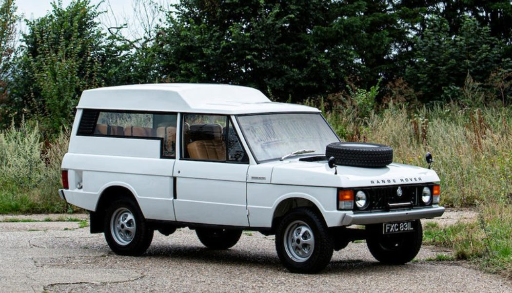 This 1972 Range Rover Shooting Brake Will Set You Back $165,000 USD