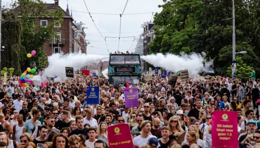 #UnmuteUs Protests Spark Easing of Restrictions for Dutch Nightlife and Festivals