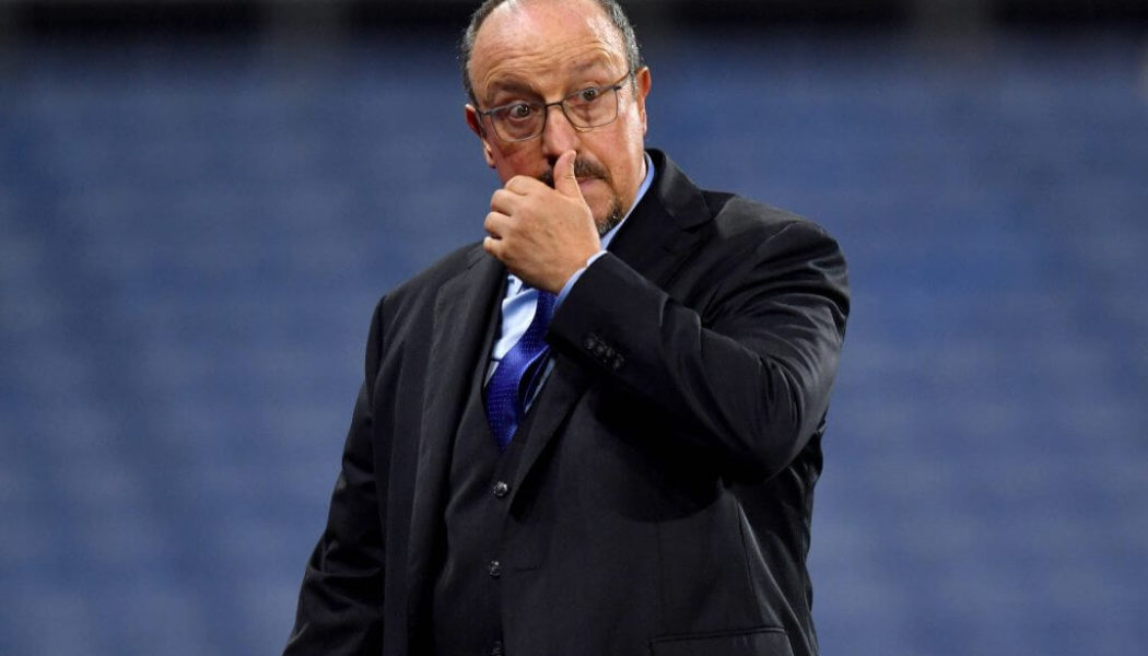 'What the fans want' – Benitez reveals what he told Everton players in the dressing room