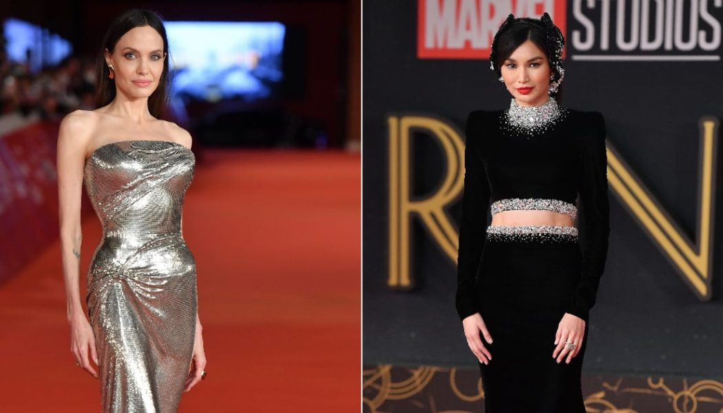 Angelina Jolie and Gemma Chan Among the Best-Dressed Stars on the Eternals Red Carpet