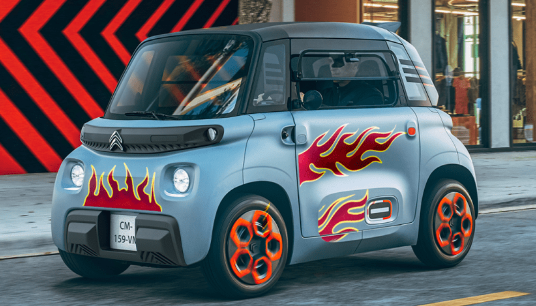 Citroën Wants You to Customize Your AMI With Flames and Kittens