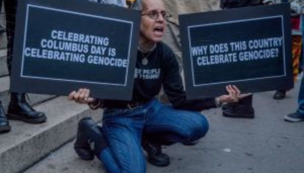 F*ck Christopher Columbus: Twitter Celebrates Indigenous Peoples' Day #IndigenousPeoplesDay