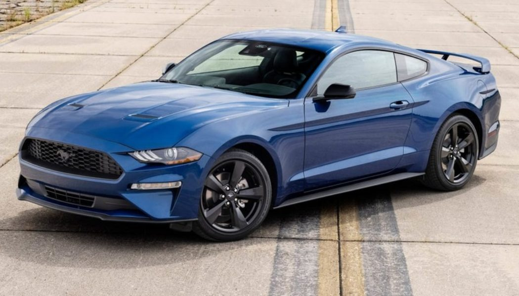 Ford Crafts Stealth Edition Appearance Package for 2022 Mustang