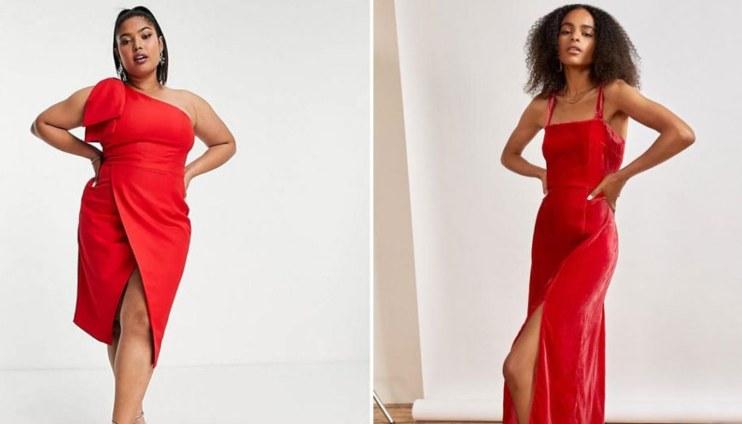 It's Time to Put That Boring LBD Down and Replace It With One of These Sexy Red Dresses
