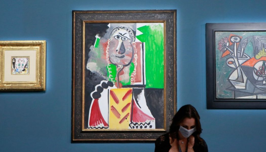 Picasso's Paintings Sell for More Than $100 Million USD at Sotheby's Auction