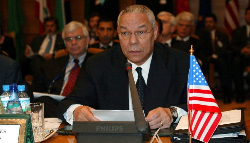 RIP: Colin Powell Dies Of Covid-19 Complications