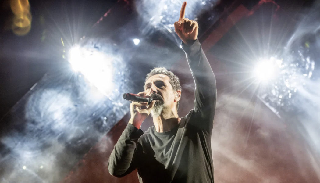 Serj Tankian Tests Positive for COVID-19, System of a Down Postpone Concerts