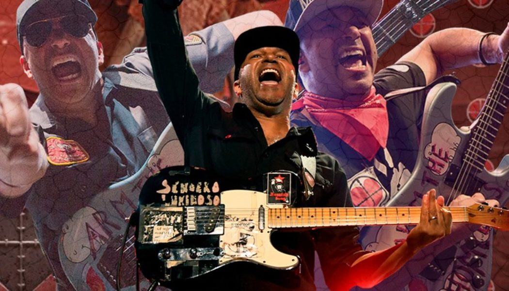 Tom Morello Can't Be Boxed In